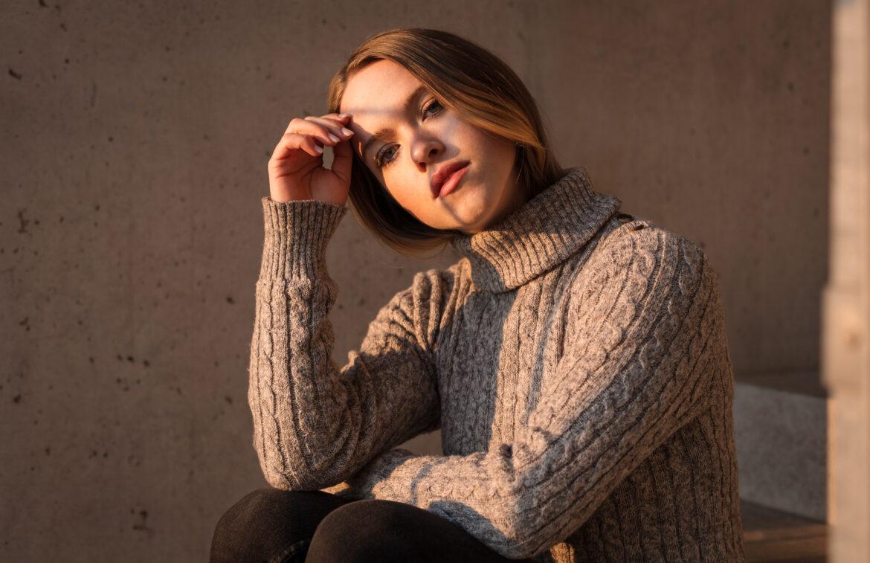 Portrait von Eva